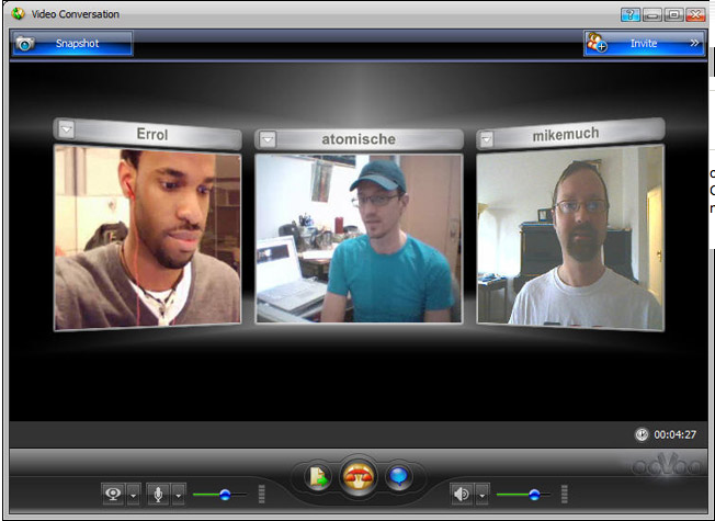 ooVoo Webcam Meeting Software
